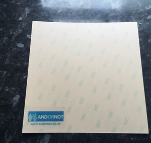 310mm x 310mm AndOrNot Build Plate